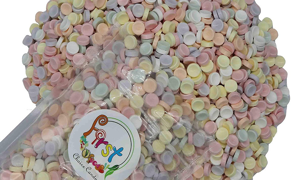Unwrapped Smarties Tablets Bulk Candy