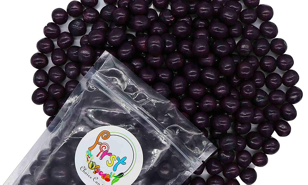 Fruit Sour Chewy Candy Balls (Purple Grape)