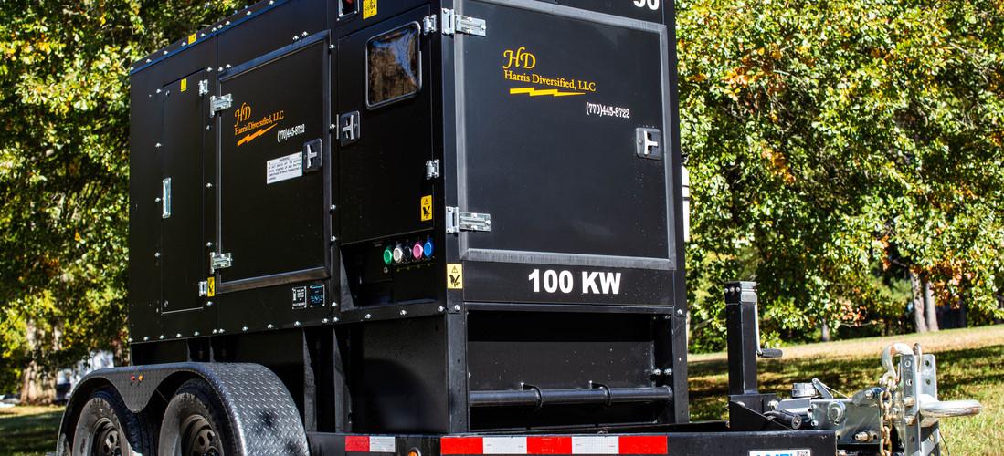 800 amp Studio - 100kw Super Silent Generator