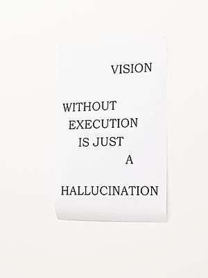 Vision without Execution