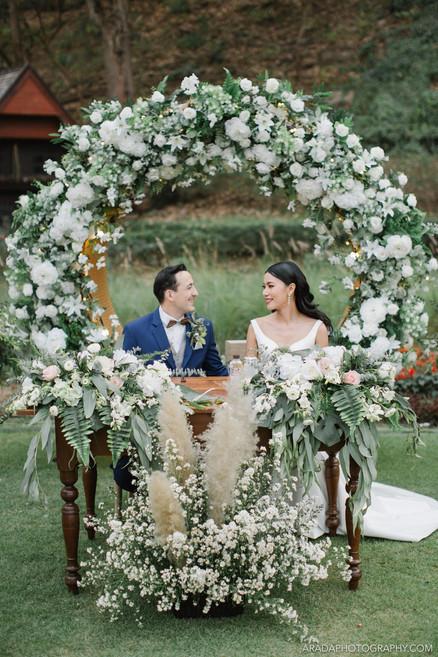 ARADA : Chiangmai Thailand Wedding Photographe