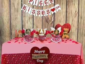 Happy Valentines Day by piggies