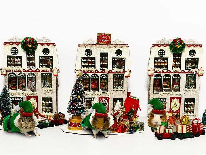 Santa's workshop by piggies
