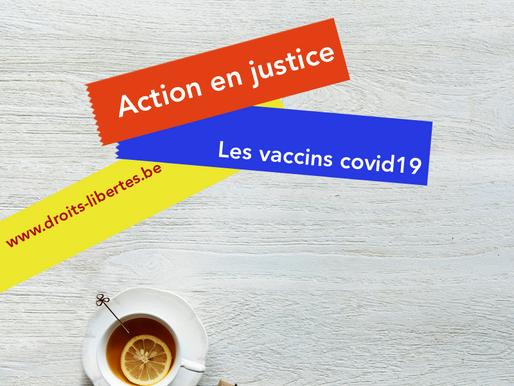 Action en justice : les vaccins anti-covid?