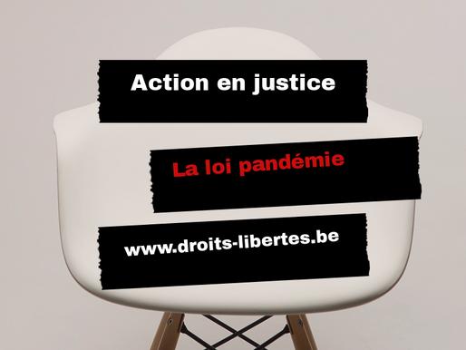Action en justice - Loi pandémie