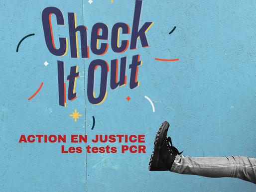 Action en justice : Test PCR