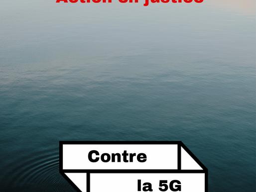 Action en justice : 5G