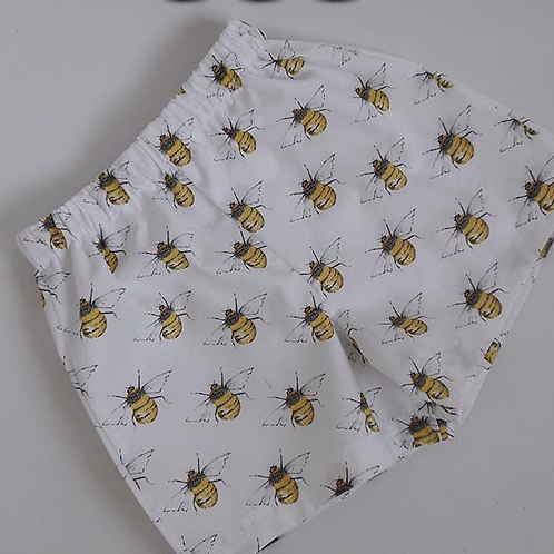 Cotton bee shorts