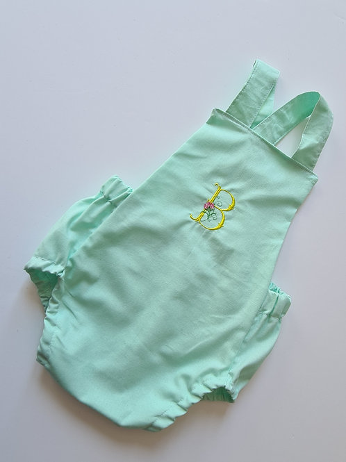baby/child's summer cotton embroidered romper