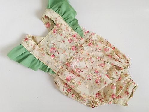 Pre made baby summer cotton romper  12-18 months