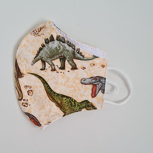 Dunosaur Face covering mask