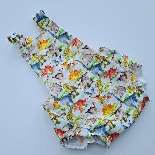 baby/child's Dinosaur summer cotton romper