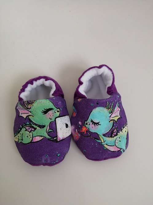 Dragon baby slippers/booties