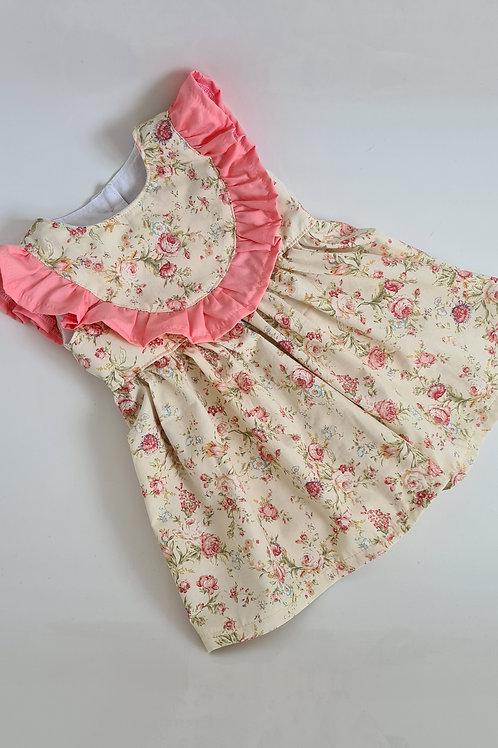 Pre made floral dress 12-18 months