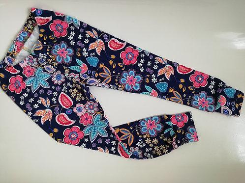 Pre made floral leggings 2-3 years