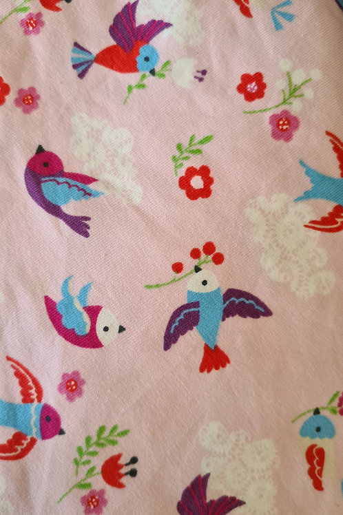 Baby/childs pink birdie shorts