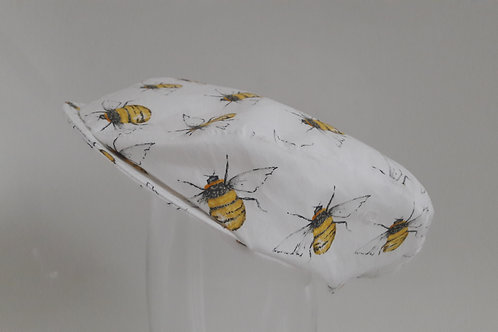 Bee newsboy flat cap
