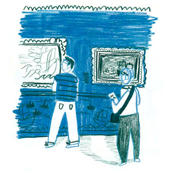 Gallery drawing