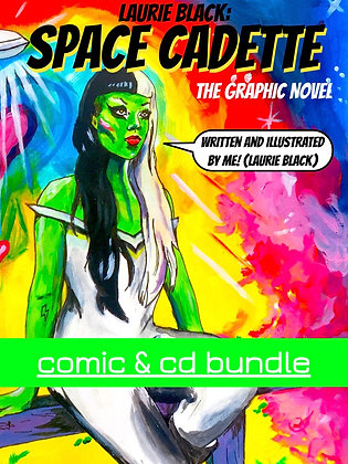 BUNDLE Space Cadette Graphic Novel & CD