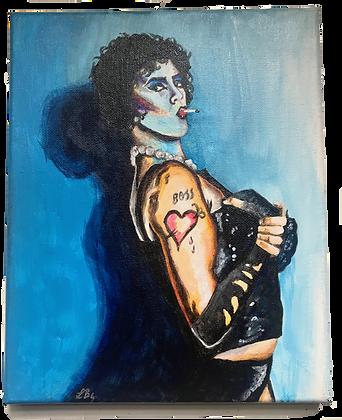 Frank N Furter Painting