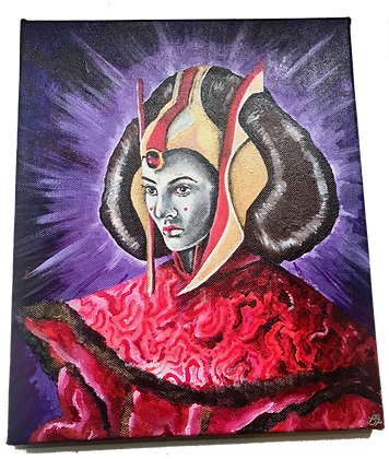 Queen Amidala Painting