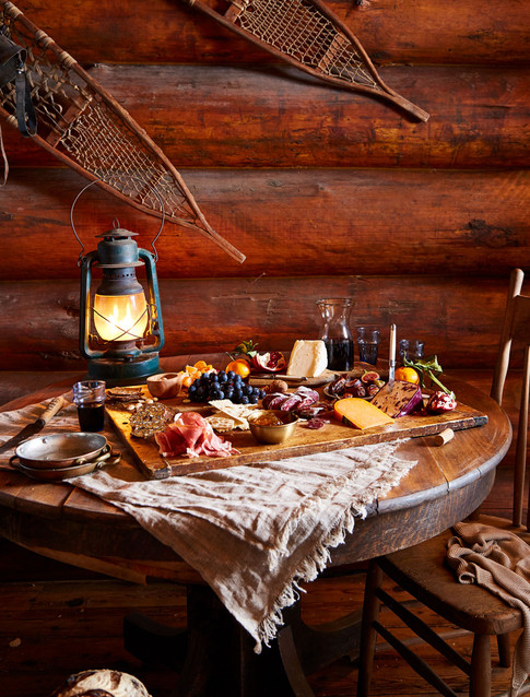 charcuterie, cabin, pool, patio, table, chairs, furniture,  photography, minneapolis, location