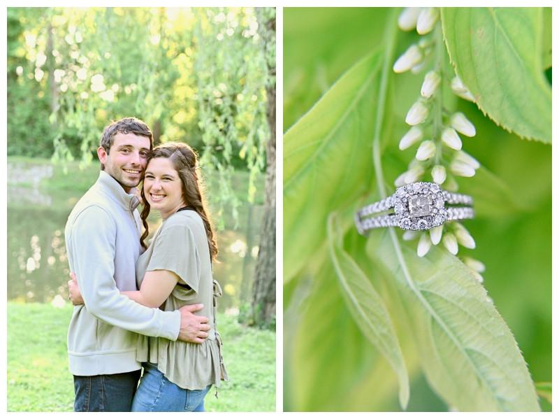 Indianapolis Indiana Engagement Holcomb Gardens Photographer Photography