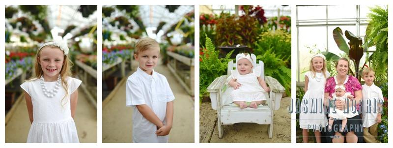 Jones Greenhouse Lebanon, Indiana Family Portraits: Jones Family
