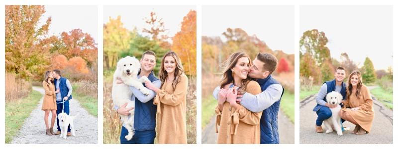 West Park Carmel Indiana Engagement Photographer Photography