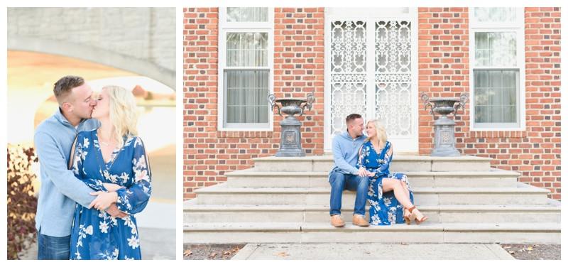 Carmel Indiana Engagement Photographer Photography Coxhall Gardens Indianapolis Lafayette