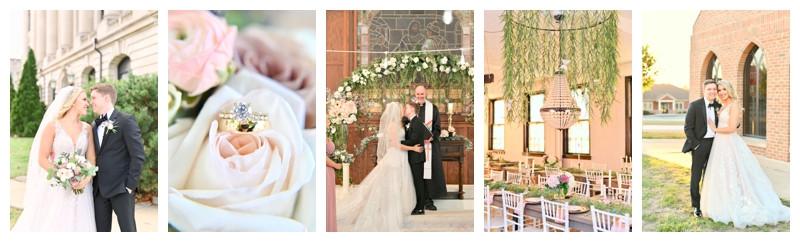 Parish House Delphi Indiana Wedding: Caitie & Cole