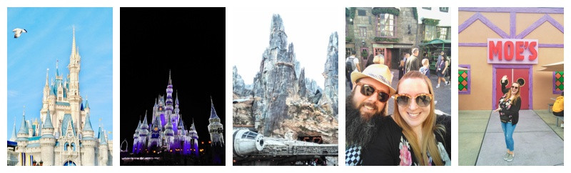 Walt Disney World and Universal Studios Orlando Florida