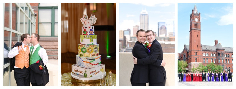 Crowne Plaza Union Station Indianapolis Indiana Wedding: Trent & Ben