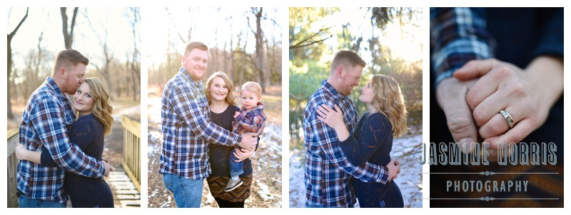 Gorgeous Sun Filled Winter Engagement in Lafayette Indiana: Sierra & Rory