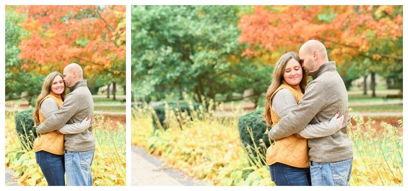 Notre Dame South Bend Indiana Engagement Photographer Photography