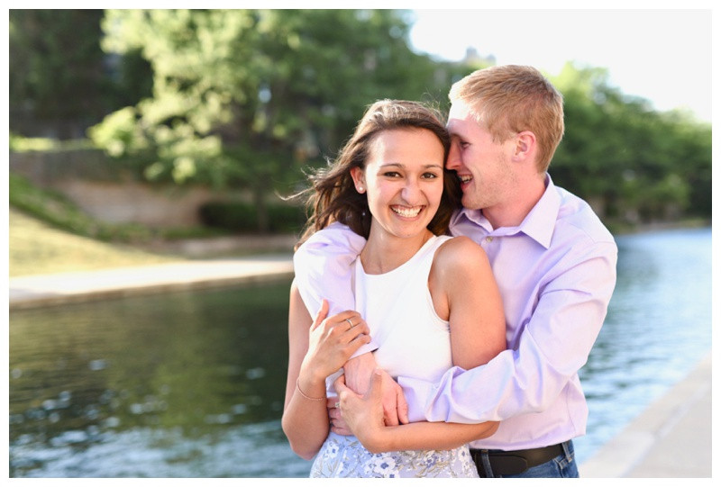 Indianapolis Canal Walk Engagement Photographer Photography Lafayette Indiana