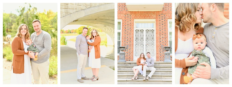 Carmel Indiana Anniversary and Family Session: Maggie & Jeremy
