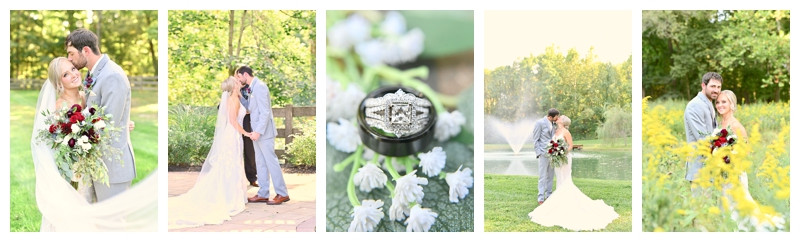 Stone Creek Lodge Crawfordsville, Indiana Wedding: Jessica & Riley