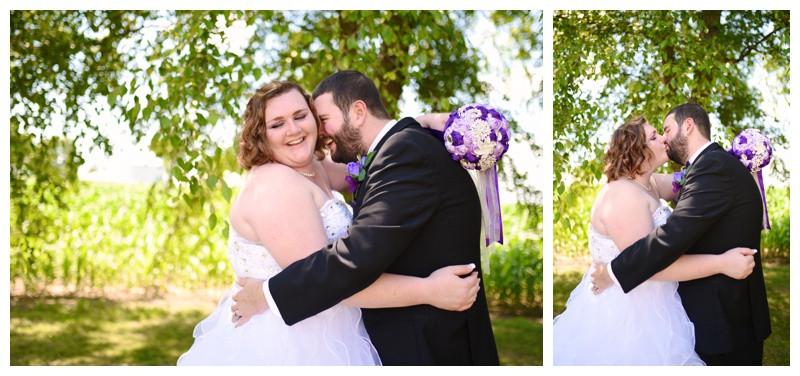 Backyard Lafayette Indiana Wedding Photographer Photography