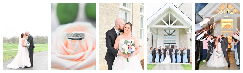 Iron and Ember Carmel Indiana Wedding: Sara & Matthew