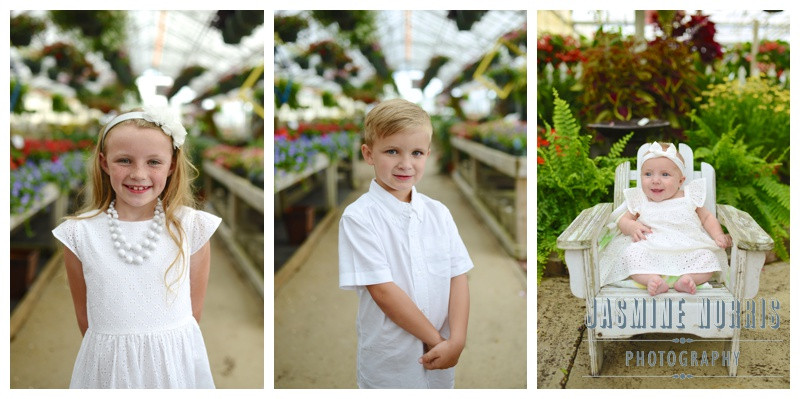 Jones Greenhouse Lebanon Indiana Family Photographer Photography