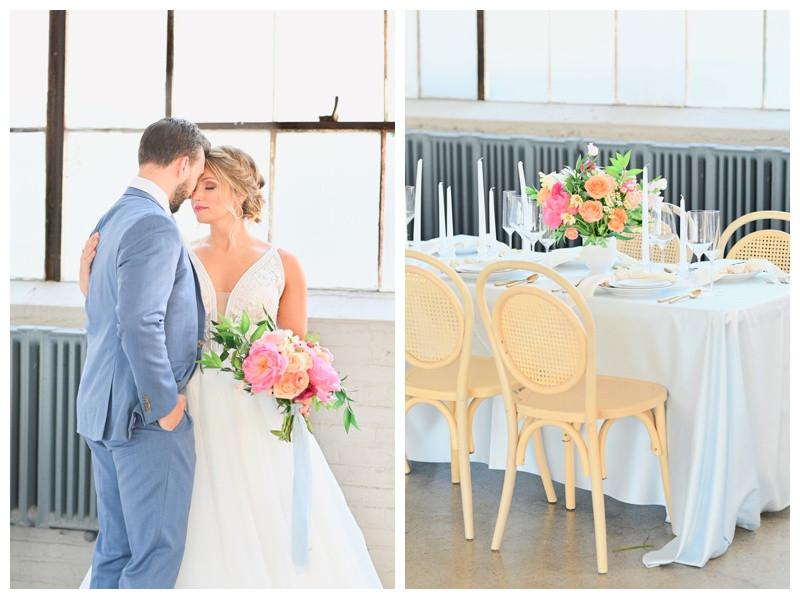 Cleveland Ohio Lake Erie Wedding Styled Shoot