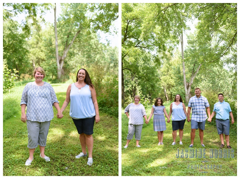 Roann Indiana Bridge and Nature Engagement and Family Session Photographer Photography