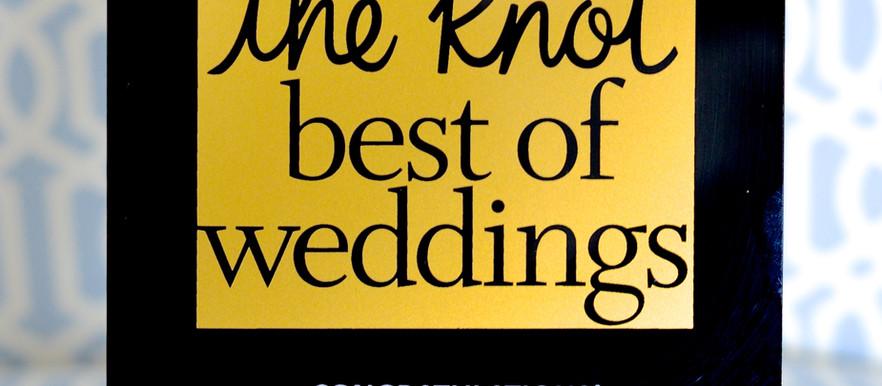 The Knot Best Of Wedding's 2015 Plaque