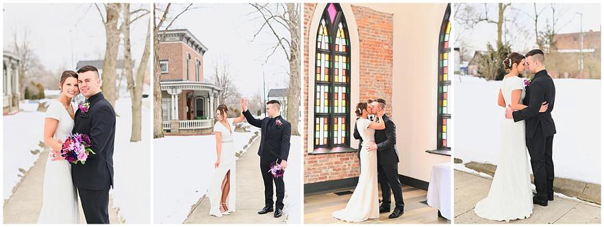 The Sanctuary Attica, Indiana Wedding: Shannon & Chase