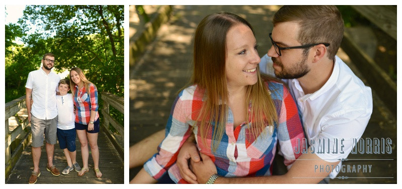 Cool Creek Park Indianapolis Indiana Engagement