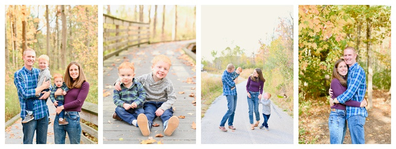 Carmel Indiana Family Session: Feauto Family