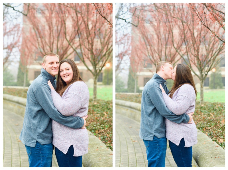 Purdue University Engagement West Lafayette Indiana Photographer Photography Indianapolis
