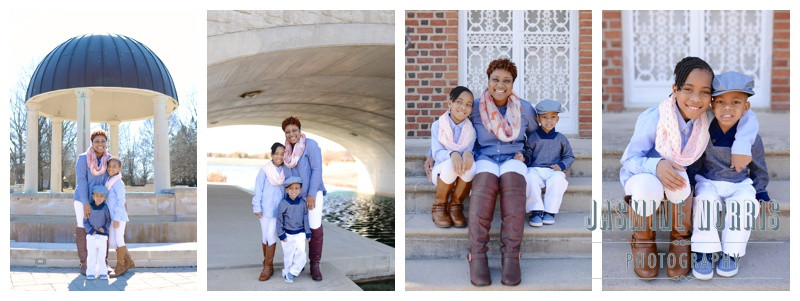 Indianapolis Indiana Coxhall Garden's Family Session: Hawkins Family
