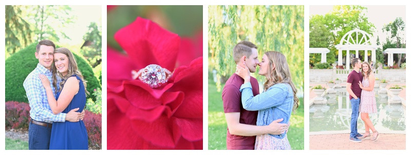 Lakeside Park Fort Wayne Indiana Engagement: Amanda & Eric